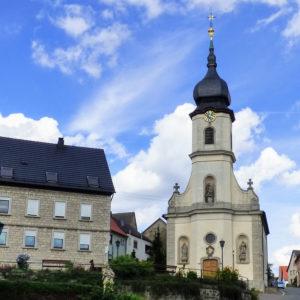 Kirche Ilmspan (R. Gerhards, 2019)