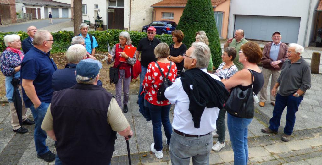 Führung durch Tauberbischofsheim (Foto: R. Gerhards)