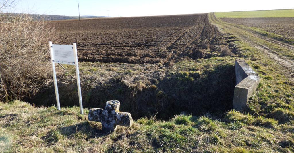 Das Linsenkreuz in Großrinderfeld
